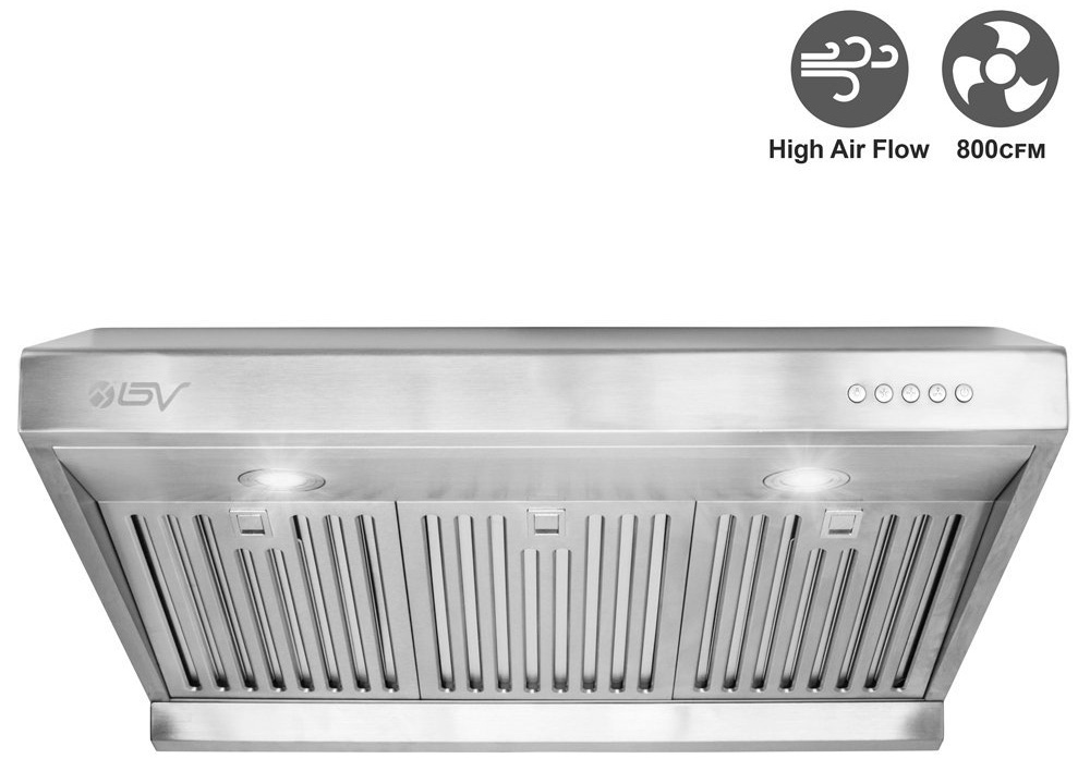 BV High Airflow Ducted Range Hoods