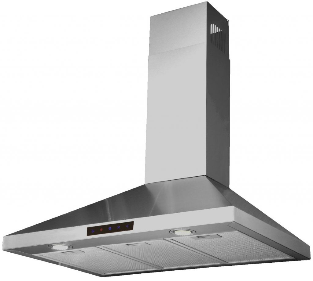 Kitchen Bath Collection STL75 LED Stainless Steel Wall Mounted Kitchen Range Hood with High End LED Lights 30 1024x921