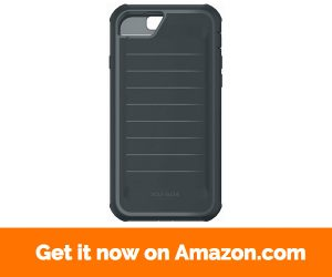 Body Glove Case for iPhone 7 & 6 6s, ShockSuit Black Charcoal