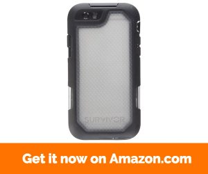 Griffin Survivor Summit Carrying Case for iPhone 6, iPhone 6S - Clear, Black