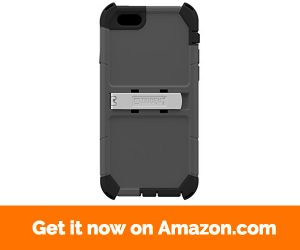 Trident 4.7-Inch Kraken A.M.S. Series Case for Apple iPhone 6 6s - Retail Packaging - Grey