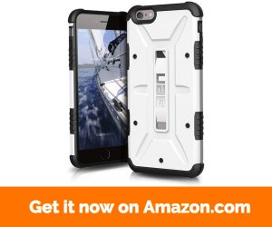UAG iPhone 6 Plus iPhone 6s Plus [5.5-inch screen] Feather-Light Composite [WHITE] Military Drop Tested Phone Case