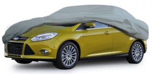 Leader Accessories Xtreme guard 5 Layers Waterproof Breathable Outdoor Indoor Car Cover(cars up to 16'8%22(200%22))