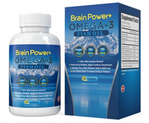 Brain Power Plus Omega 3 Fish Oil
