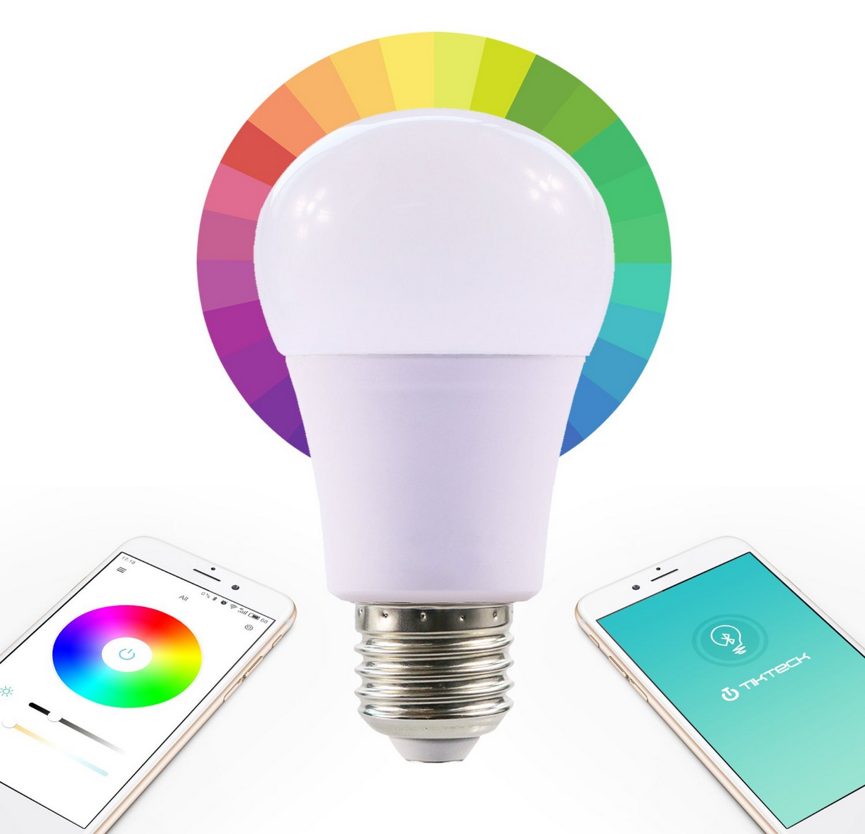 Tickteck Smart LED Dimmable Light Bulb