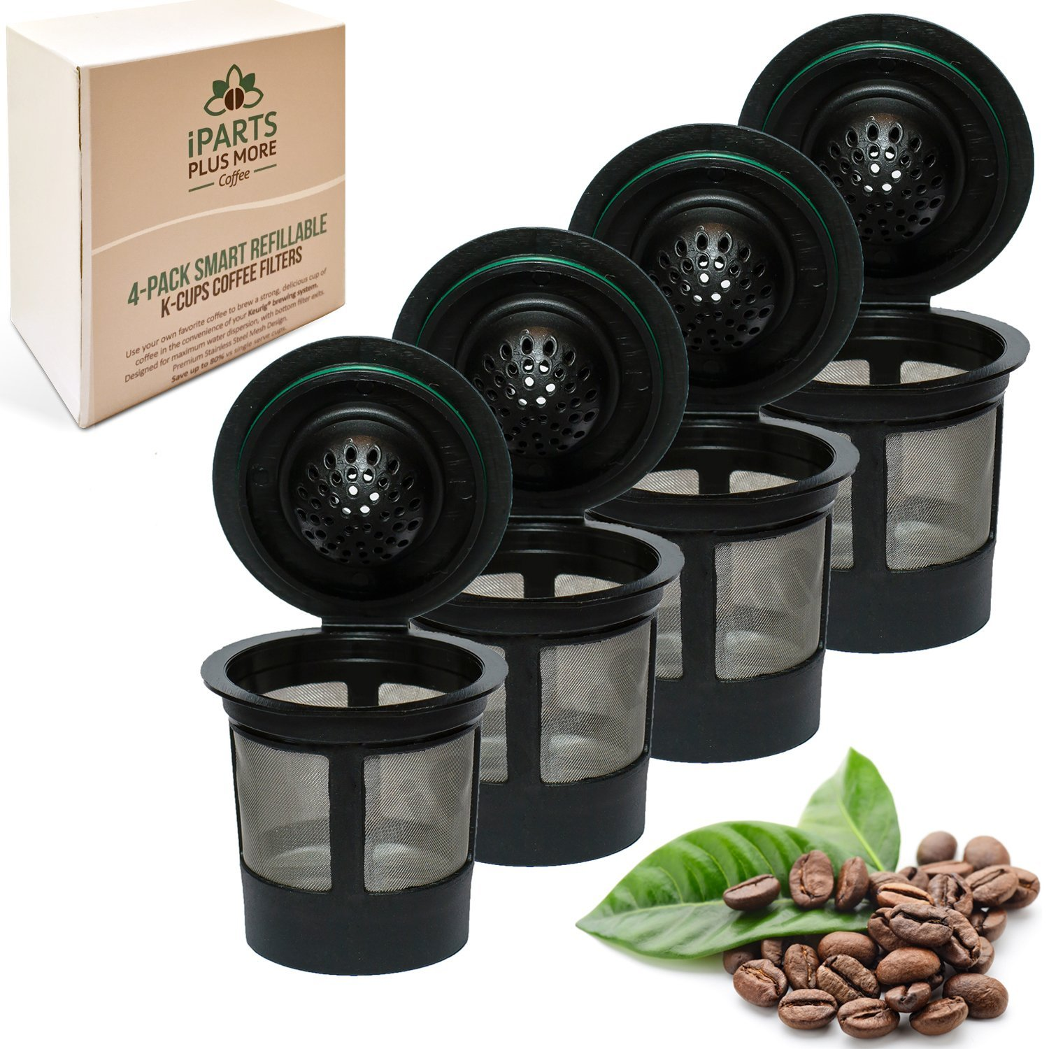 iPartsPlusMore Reusable K-Cup Solo Filters