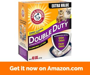Arm & Hammer Double Duty Litter 40 Lbs (Packaging May Vary)