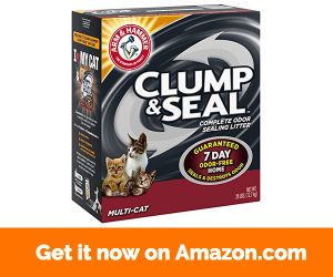Arm & Hammer. Clump & Seal Litter, Multi-Cat, 28 Lbs