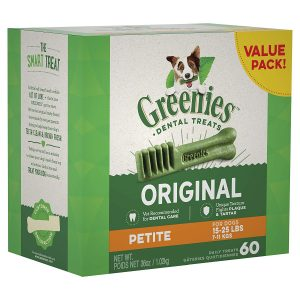 Greenies Original Regular Size Dental Dog Treats