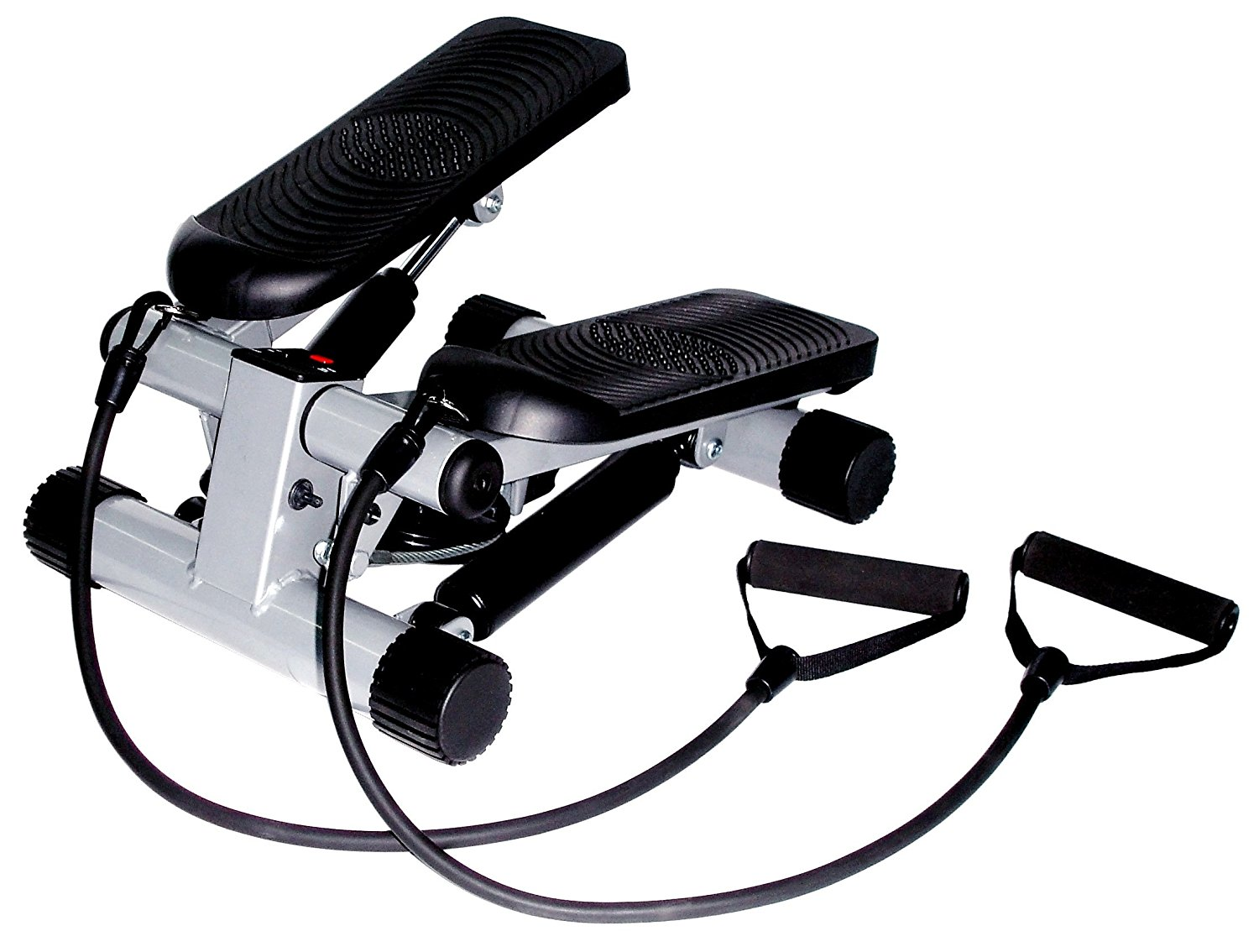 Mini-Stepper with Resistance Bands by Sunny Health & Fitness