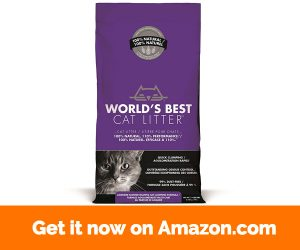 World's Best Cat Litter 391038 Multiple Cat Scented Clumping Formula