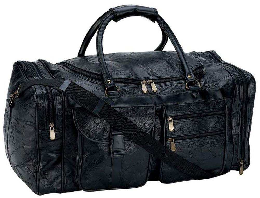 B&F Embassy Leather Duffle Bag