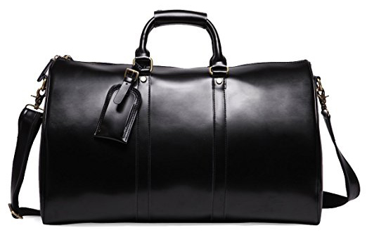 Leathario Men's Travel Duffle