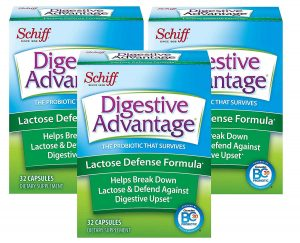 Digestive Advantage Lactose Defense, 32 Count (Pack of 3)