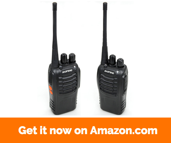BaoFeng BF-888S Walkie Talkie Two Way Radio With Earphone (Pack of 20) + 20 More Extra TID battery and program cable for free