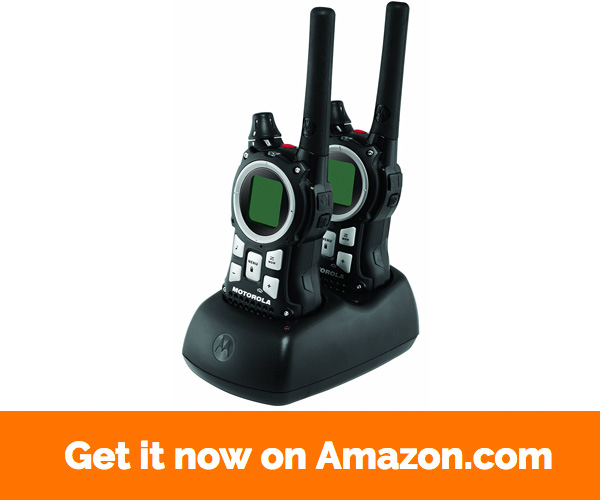 Motorola MR350R 35-Mile Range 22-Channel FRS GMRS Two-Way Radio (Pair)