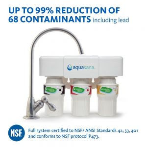Aquasana AQ-5300.56 Under Sink Water Filter System