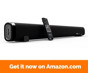 Elecder Sound bar for TV, 6 Speakers 38 Inch 60 Watt 2.0 Channel With Wall Mountable, Support Bluetooth Optical AUX RCA