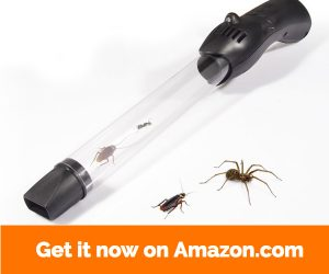 Catcha Vacuum Bug Catcher Live Catch Spider Insect Crawler Humane Pest Control USB Rechargeable Upgrade Version