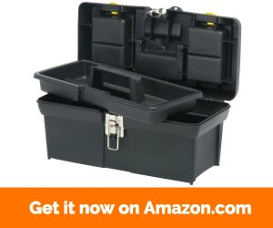 "Stanley 016013R 16"" Series 2000 Tool Box with Tray"