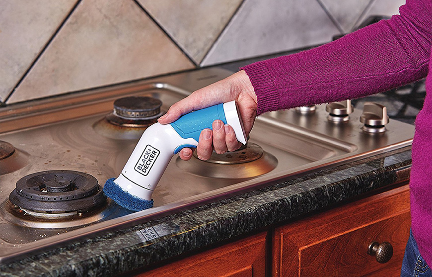 Tile Power Scrubbers