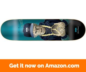 DGK Skateboard Deck Wade G Killers Foil Blue 8.06""