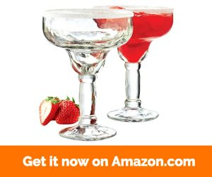 Libbey Yucatan Margarita Glass Set of 4