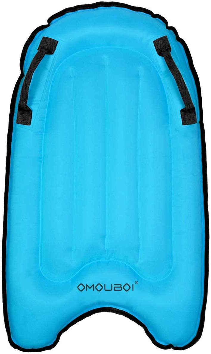 OMOUBOI Body Boards for Kids Surfing Pool Floats 30inch Inflatable Surf Boards Mini Adults Surfboard Bodyboard