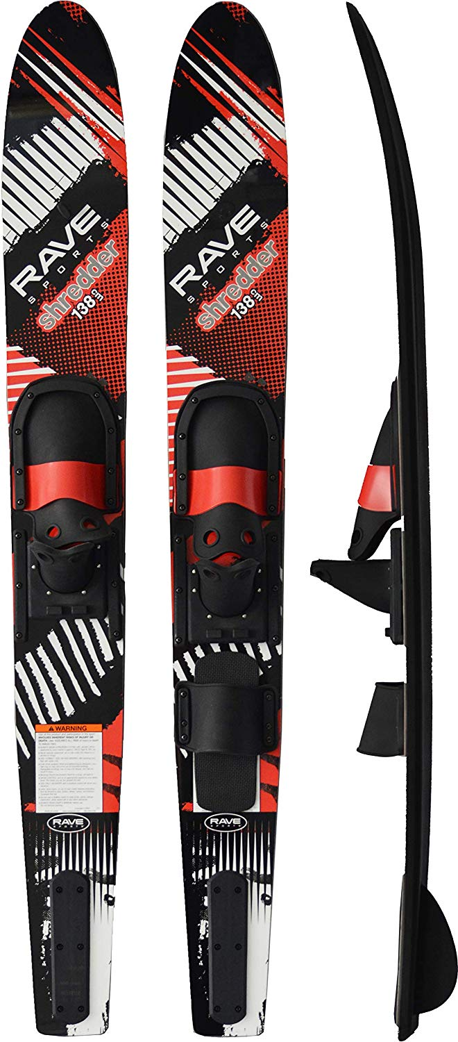 RAVE Sports Shredder Trainer Combo Water Skis