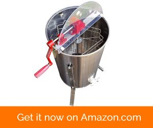 Hardin Professional 3 Frame Manual Honey Extractor