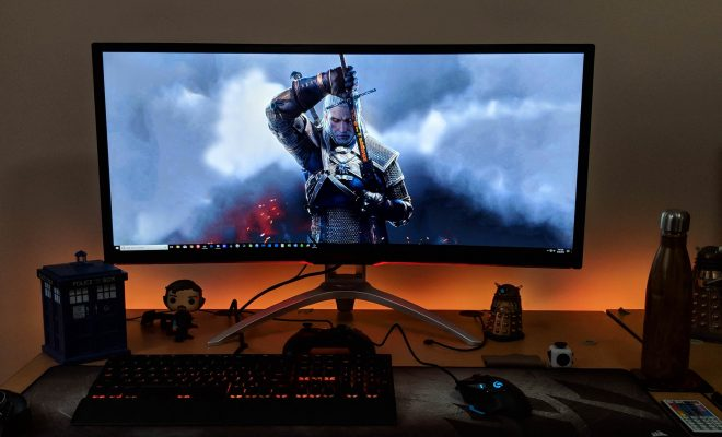 "AOC AGON AG352UCG6 35"" Curved Gaming Monitor"