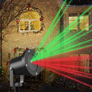 Christmas Laser Light Projector by Gideon