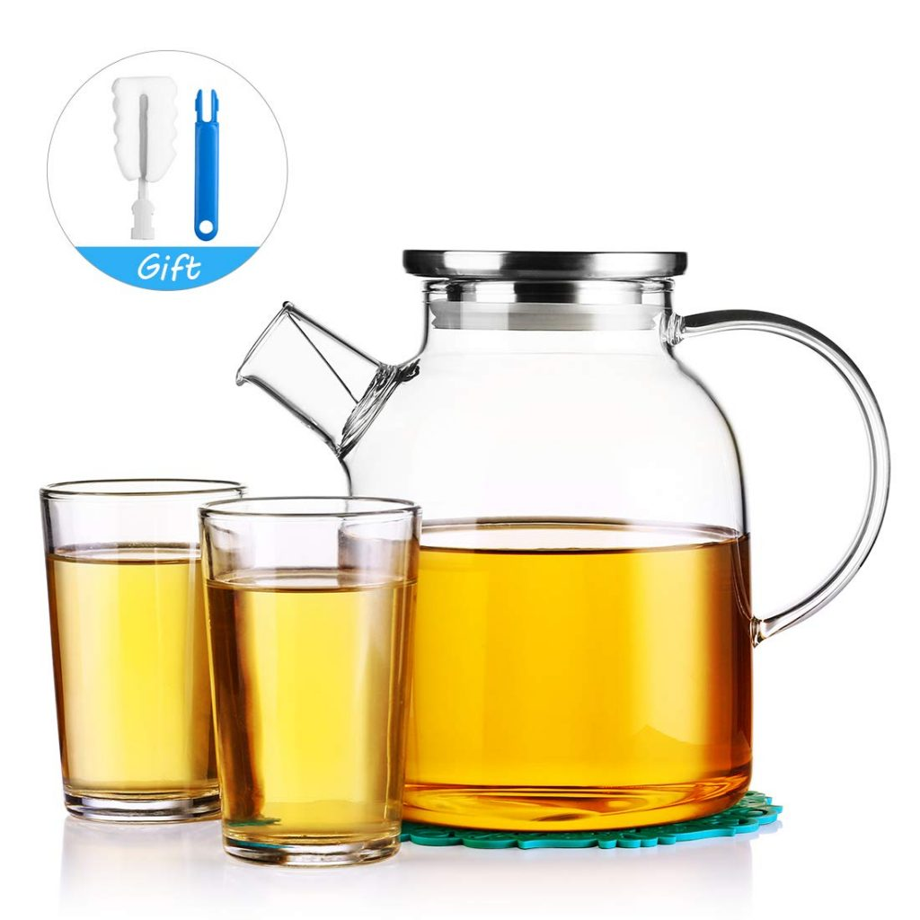 JIAQI Iced Tea Pitcher