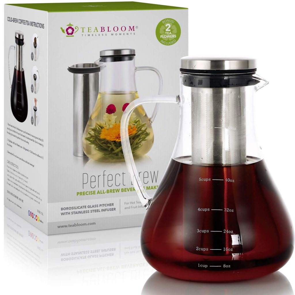 Teabloom Iced Tea Pitcher