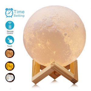 ACED 5.9 Inch Luna Moon Lamp Night Light