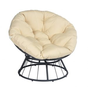 ART TO REAL 360 Swivel Papasan Chair Cushion