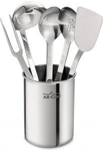 All-Clad TSET1 Stainless Steel Kitchen Tool Set 6-Piece