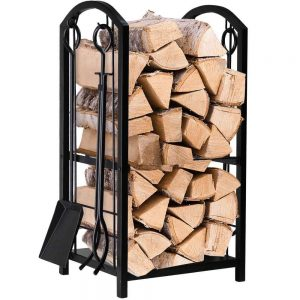 Amagabeli Garden & Home BL0001 Fireplace Log Rack