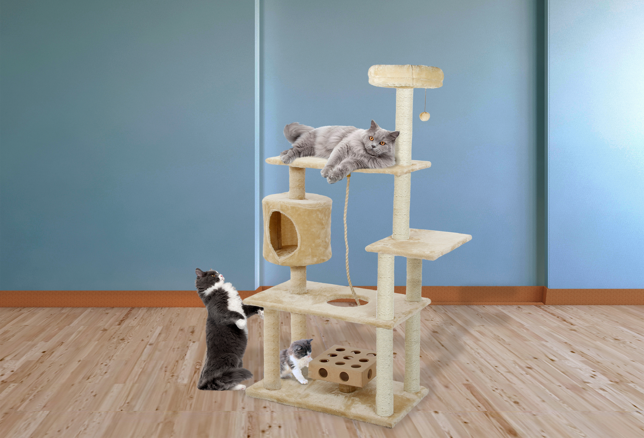 Cat Tree House Furniture
