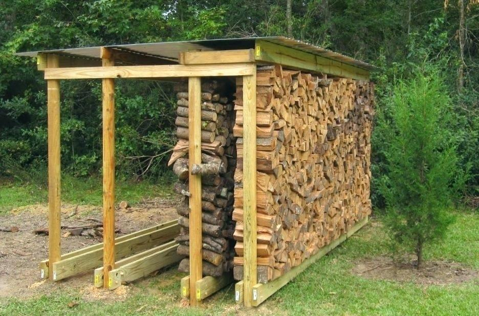 Firewood Log Rack and Storage