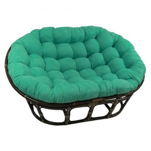 International Caravan 3304-MS-EM-IC Papasan Chair