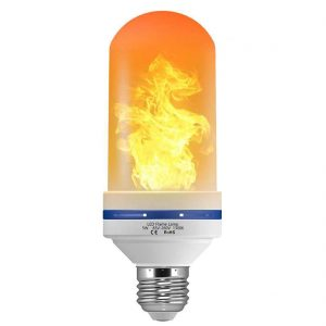LUXON LED Flame Effect Light Bulb