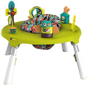 Oribel PortaPlay 4-in-1 Baby Play Saucer Activity Center