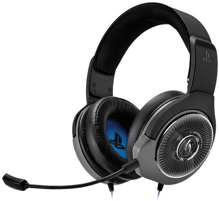 PDP PS4 Afterglow AG 6 Wired Gaming Headset, 051-077-NA-BK