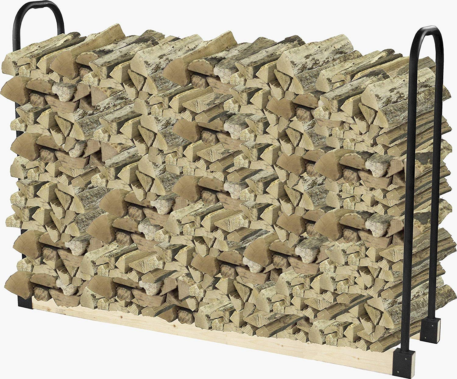 Pleasant Hearth Heavy Duty Outdoor Log Rack