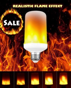 SGJ Lighting LED Flame Bulb