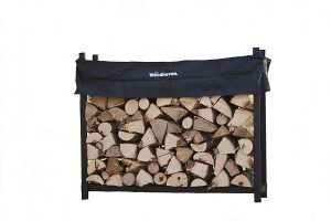 The Woodhaven WR005 5 Foot Firewood Log Rack