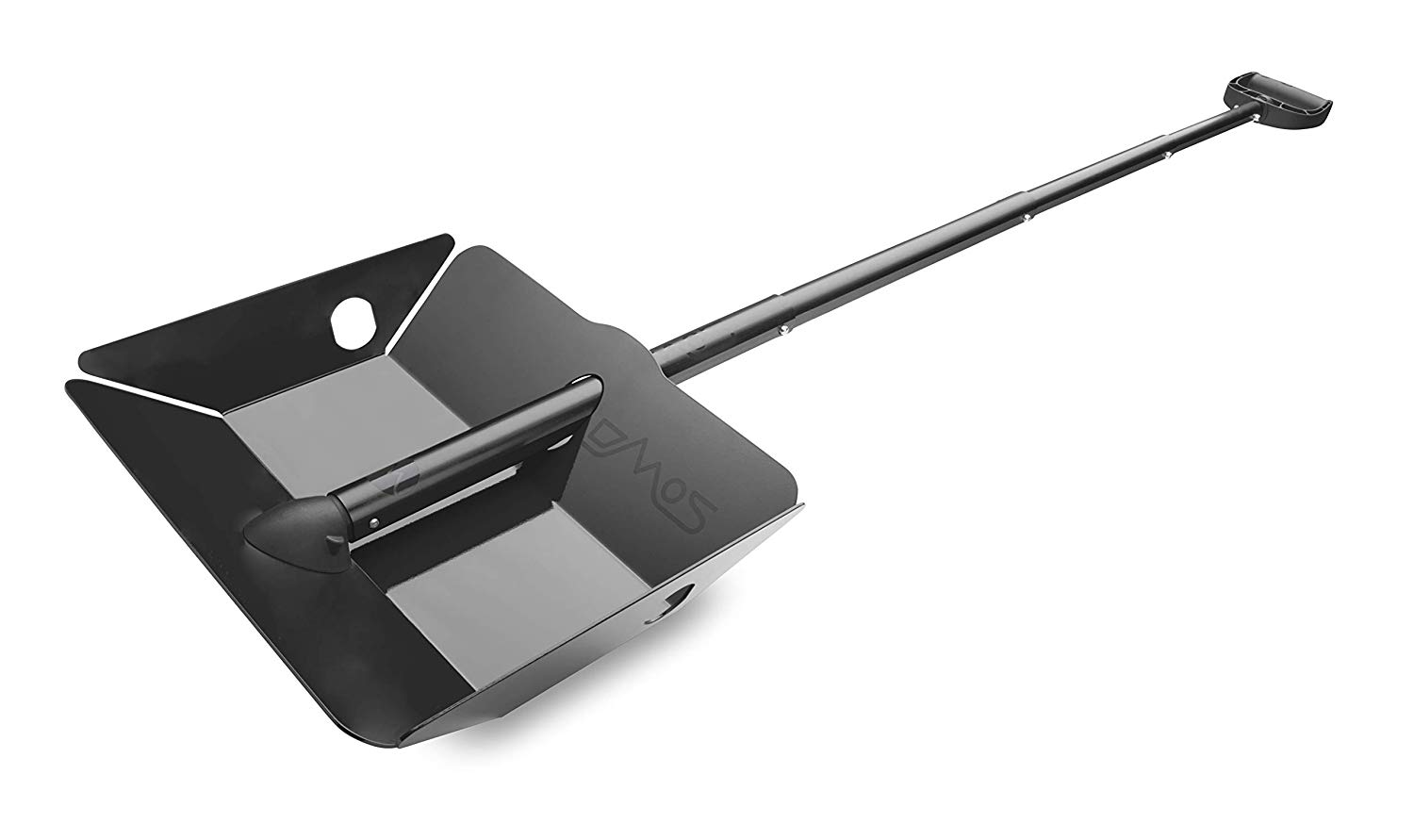 DMOS Alpha 2 Shovel - Strong, Stowable, High-Performance, Perfect for Car Truck, Snow, Survival, Camping, Off-Road, Emergency, and Other Outdoor Activities