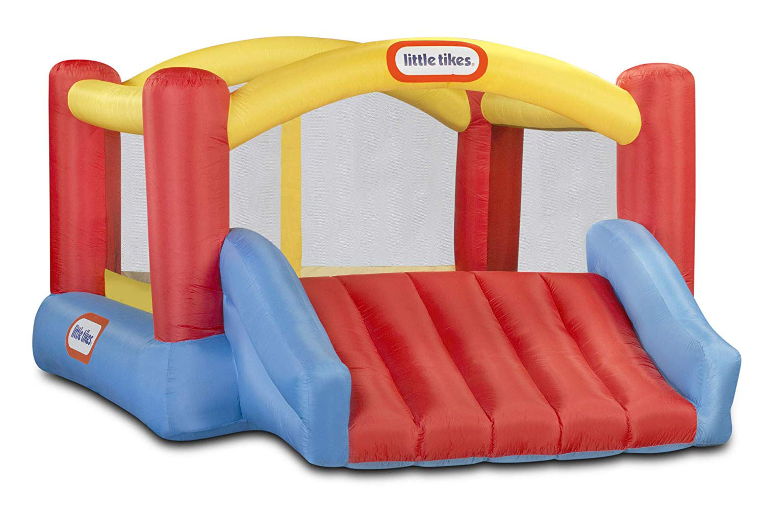 Little Tikes Inflatable Jump 'n Slide Bounce House with heavy duty blower