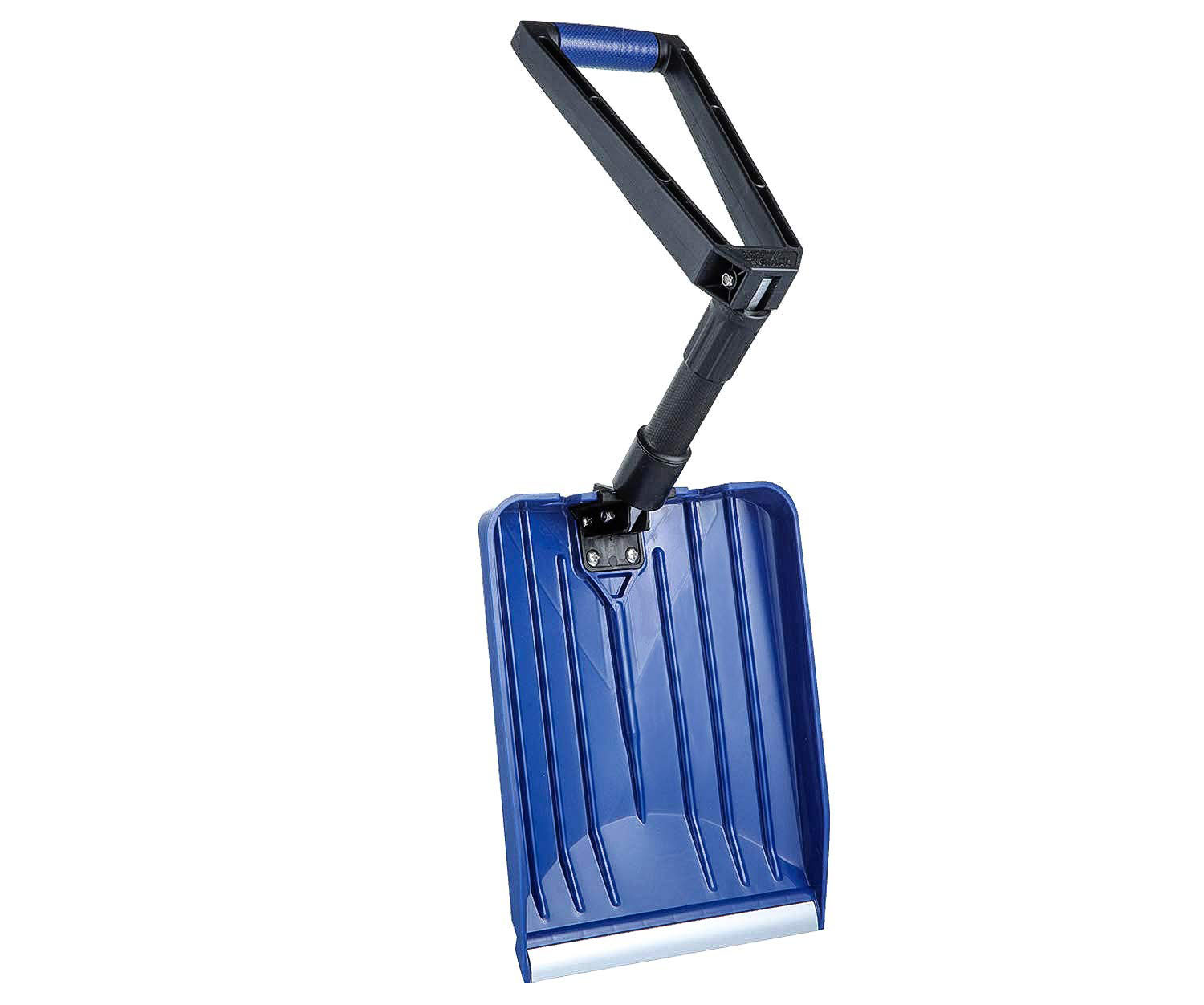 ORIENTOOLS Collapsible Snow Shovel with D-Grip Handle and Durable Aluminum Edge Blade, Portable Snow Shovel for Your Car, Truck, Recreational Vehicle, etc. (Blade 11in)